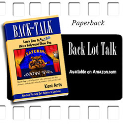 Back Lot Talk book